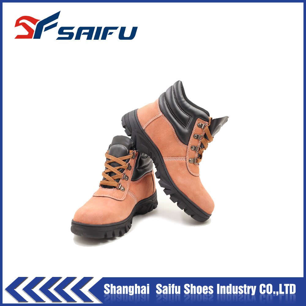high cut and high quality safety shoes for women SF6951