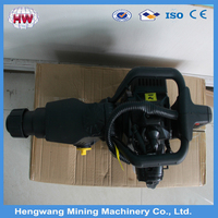 Most economical Single cylinding Air cooling 2 Stroke Gasoline rock breaker /rock drill with low price