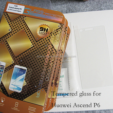 Premium 0.3mm 9H Tempered Glass screen protector for Huawei Ascend P6