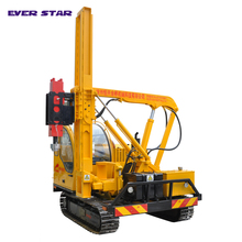 deep hole drilling bore pile drilling crawler solar power piling machine