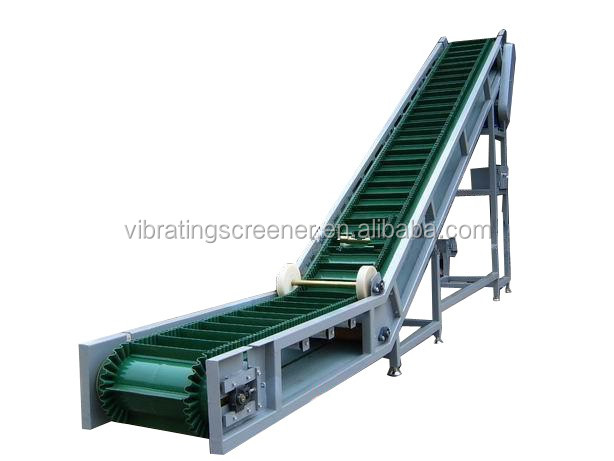 Large angled best price fabric rubber conveyor belt