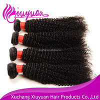 100% Virgin Brazilian Hair Curly Wave Long And Thick Hair Extensions