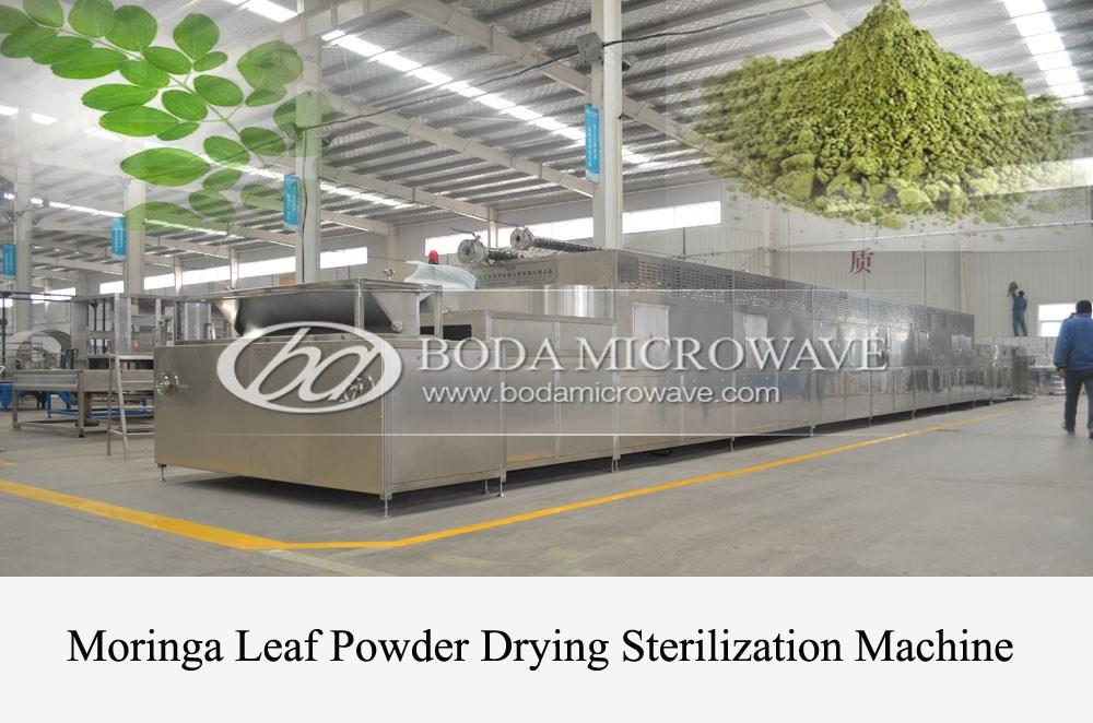 Microwave Drying Sterilizing Machine