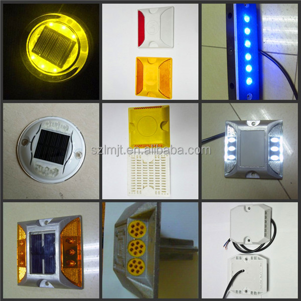 Best price tunnel edge used waterproof aluminum LED wired road marker road stud
