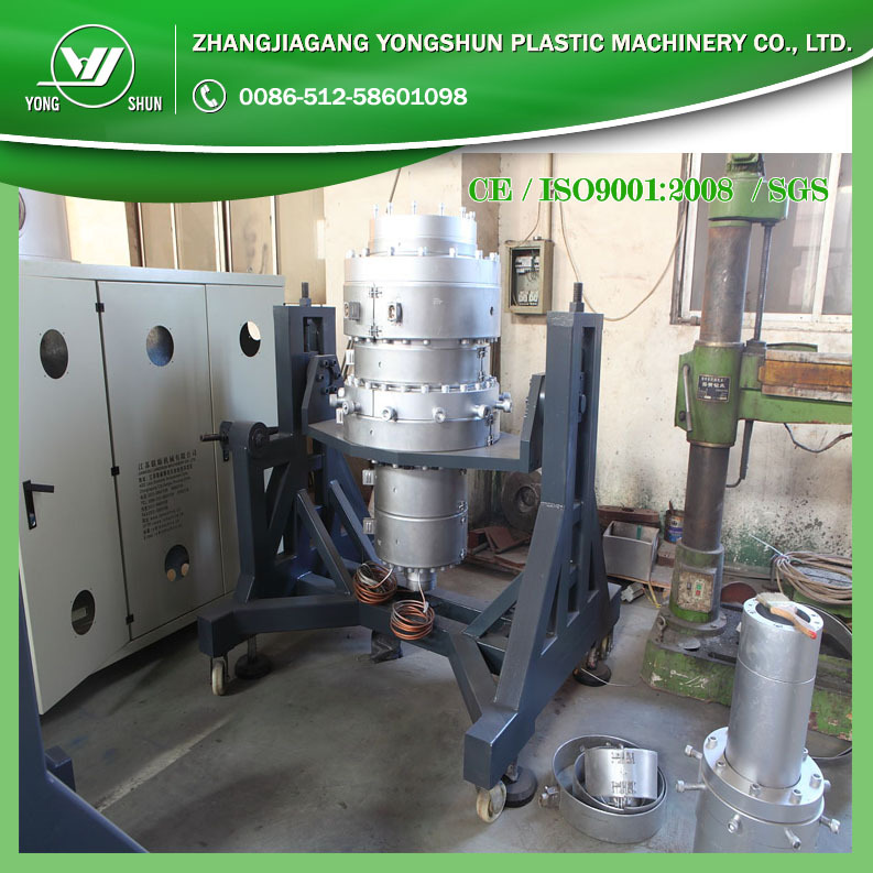 HDPE pipe making machine / PE two layer pipe production line /PE PPR three layers plastic pipe extrusion machine