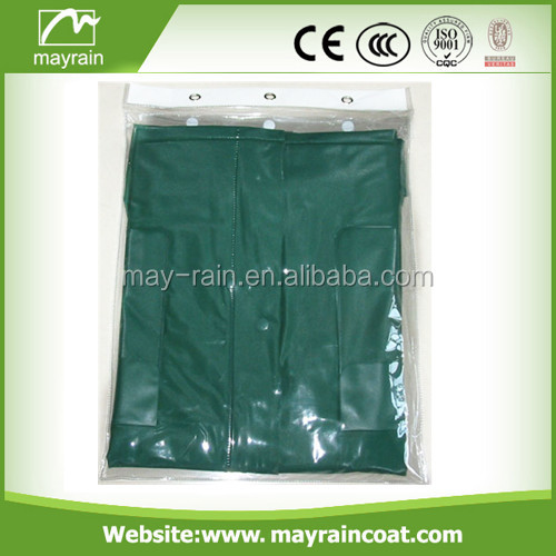 Hot Selling adults pvc rainsuit