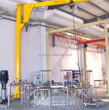 BZ 360 degree rotating luffing column mounted slewing jib crane of good price