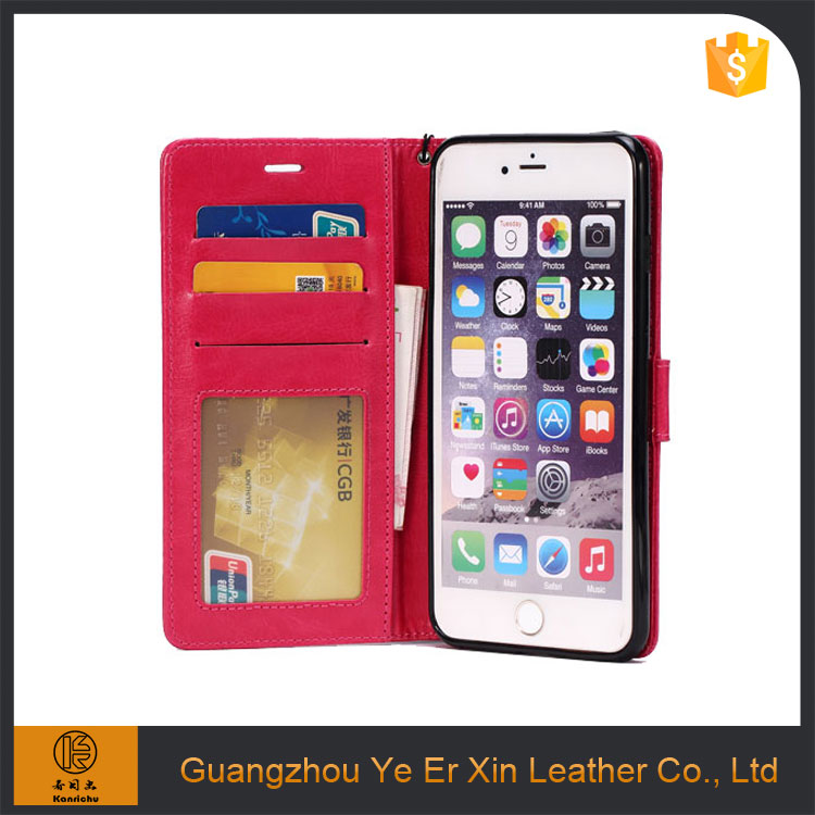 2017 trendy product free sample pu leather cell phone case for iphone 6 7 7plus