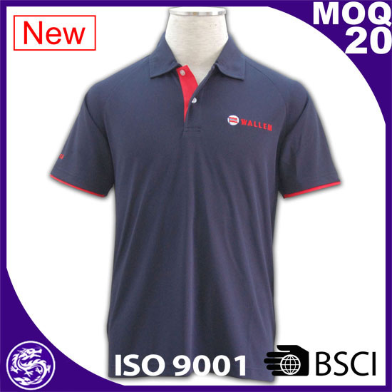 100% cotton sport shirt wholesale polo collar clothing