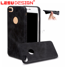 Ultra thin folio cover soft leather case pouch for iphone 6s 7 plus