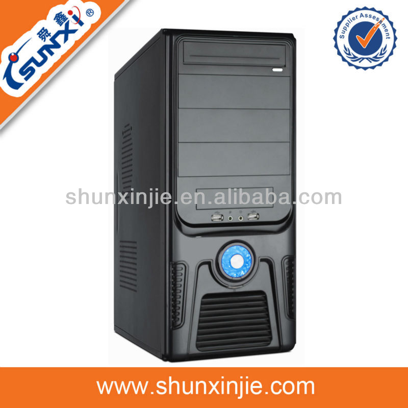 SX-C1803 hot selling elegant pc computer case with ups