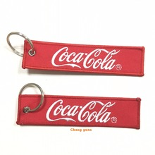 Custom Embroidery Keychain Manufactures in China, Personalized Souvenir Keychain With Logo