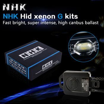 NHK blue version HID bi-xenon G kit G3 G5 G35 G55 ballast and H1/3/4/7/8/9/11 9005/9006/9012/D2H hid xenon bulb