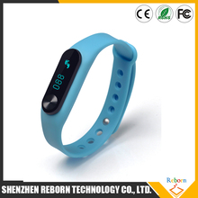 China Shenzhen Alibaba hot sell Sports Waterproof IP66 M2 smart wrist watch