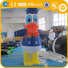Advertising Inflatable Donald Duck Moving Cartoon, Inflatable human cartoon, Inflatable cartoon costume