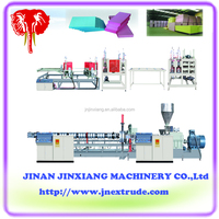 XPS foam insulation board making machine