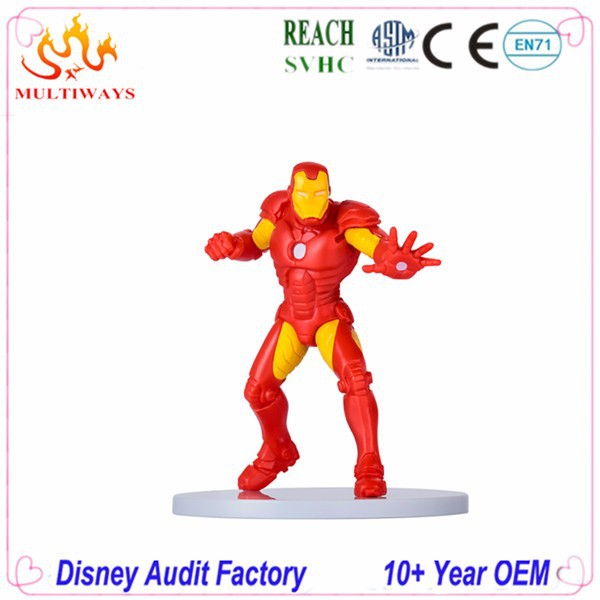 High detail custom movie star plastic figure with ABS base 8.5cm toy figure for hot promotional plastic miniature figure