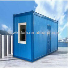 20 ft Prefab Container Hotel design / Container Restroom/Container Toilet