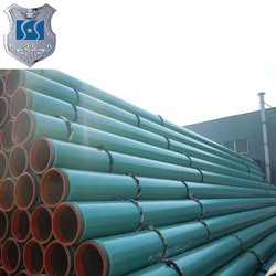 Oil gas pipe corrosion thermal insulation DN1200 plastic coated steel witn flange