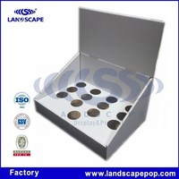 Counter corrugated display/Hand creams cardboard material counter top display
