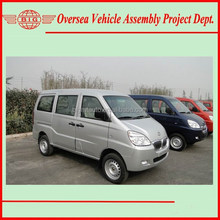 Super Cold A/C New China Gasoline Passenger Van for Sale