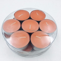 HOT sale walmart orange color tea light floating candles