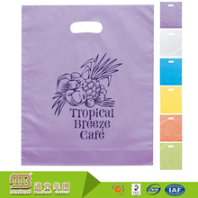 Best-selling eco-friendly custom packaging templates plastic bag with handle