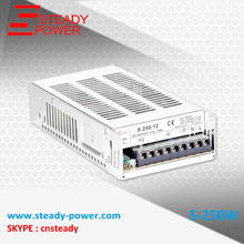 OEM switching power supply ac 250w dc 24v 10a SMPS with 2 Years Warrranty S-250-24
