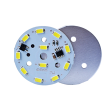 3w 5w 7w 9w 12w 18w driverless led smd pcb 12v round alu warm white led pcb board