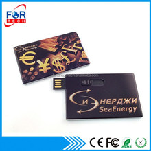 Full Color Card USB Pen drive 64gb, Wholesale Items Bulk 1gb Card Flash Drive