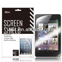 7' Tablet Screen protectors for Google nexus 7 oem/odm (Anti-Glare)