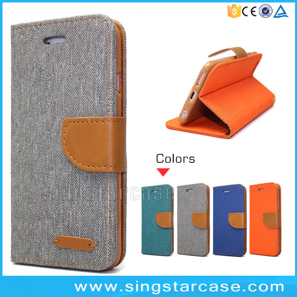 Luxury PU Leather Wallet Flip Cover Card Slots Stand Case For iPhone6 iP Hone 6 6Plus