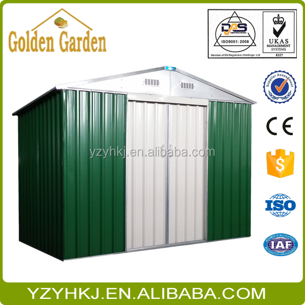 hot selling plastic lifetime garden shed