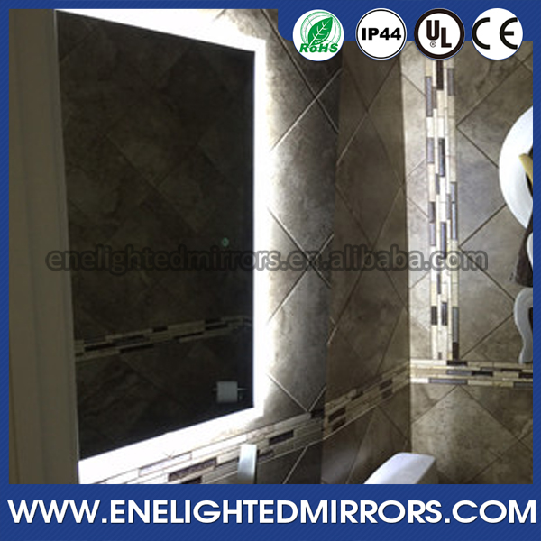 Lumination Series Led Illuminated Contemporary Mirrors Bathroom Lighting