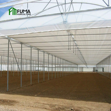 low cost heat preservation seed planter reinforced plastic film sheet agricultural large scale film greenhouse for sale
