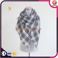 wholesale women scarves tartan blanket stoles and scarves