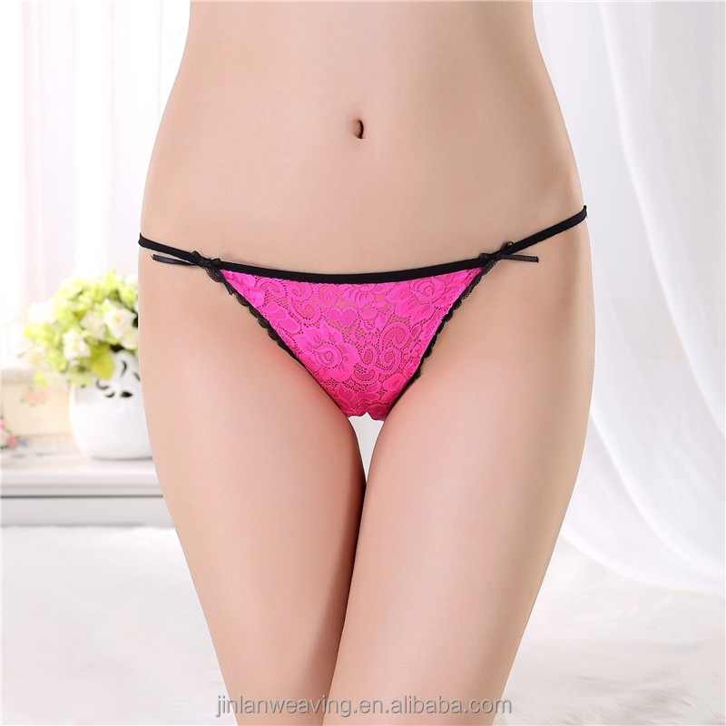 Funny Design Women Thong Underwear Lace Sexy Ladies Hot Thong Wholesale China Stock Lot Hot Sex Girls Photoes G-string