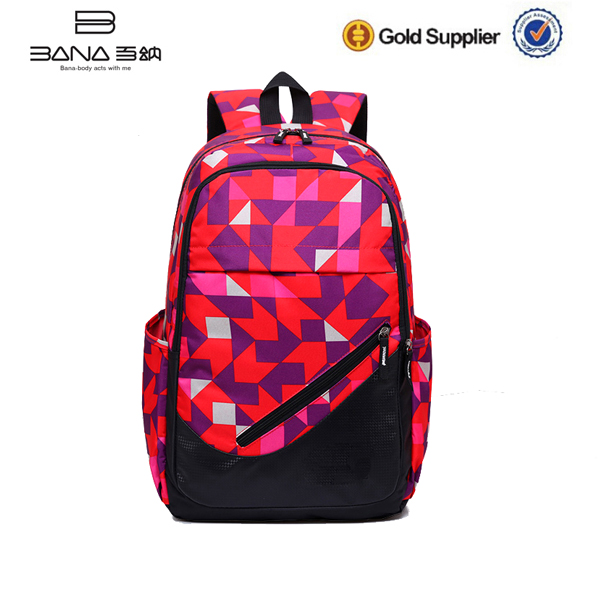 Fashionable Sport Shoulder School Backpack Bag Bulk Book Bags