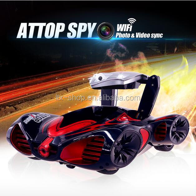 Wifi free play games toy car racing with camera Support Android & ios Smart Device control WIFI spy car with camera