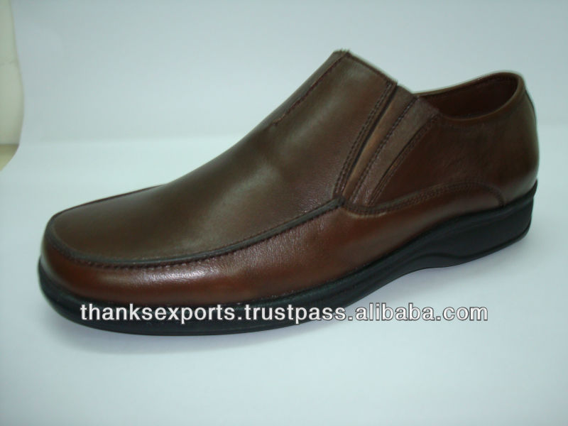 2013 most popular slip-on leather shoes men