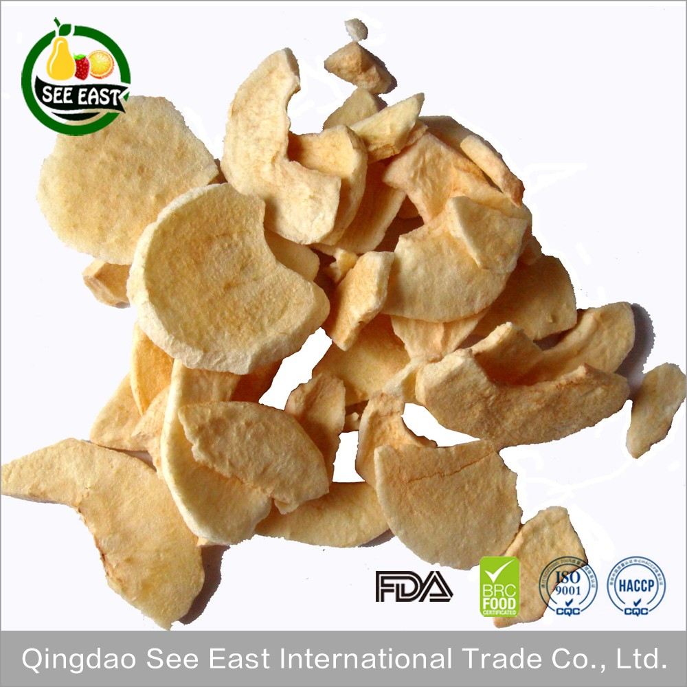 Freeze dried fruit lyophilized fruits snack dried fuji apple chips