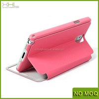 New big window flip leather case for Samsung Galaxy note3 , mobile phone accessories for note3