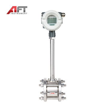 LUGB serials RS485 steam air measure vortex flow meter