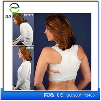 Aofeite Best selling products Power Magnetic Back Posture Support ,Elastic Back Posture Correction,Posture back brace