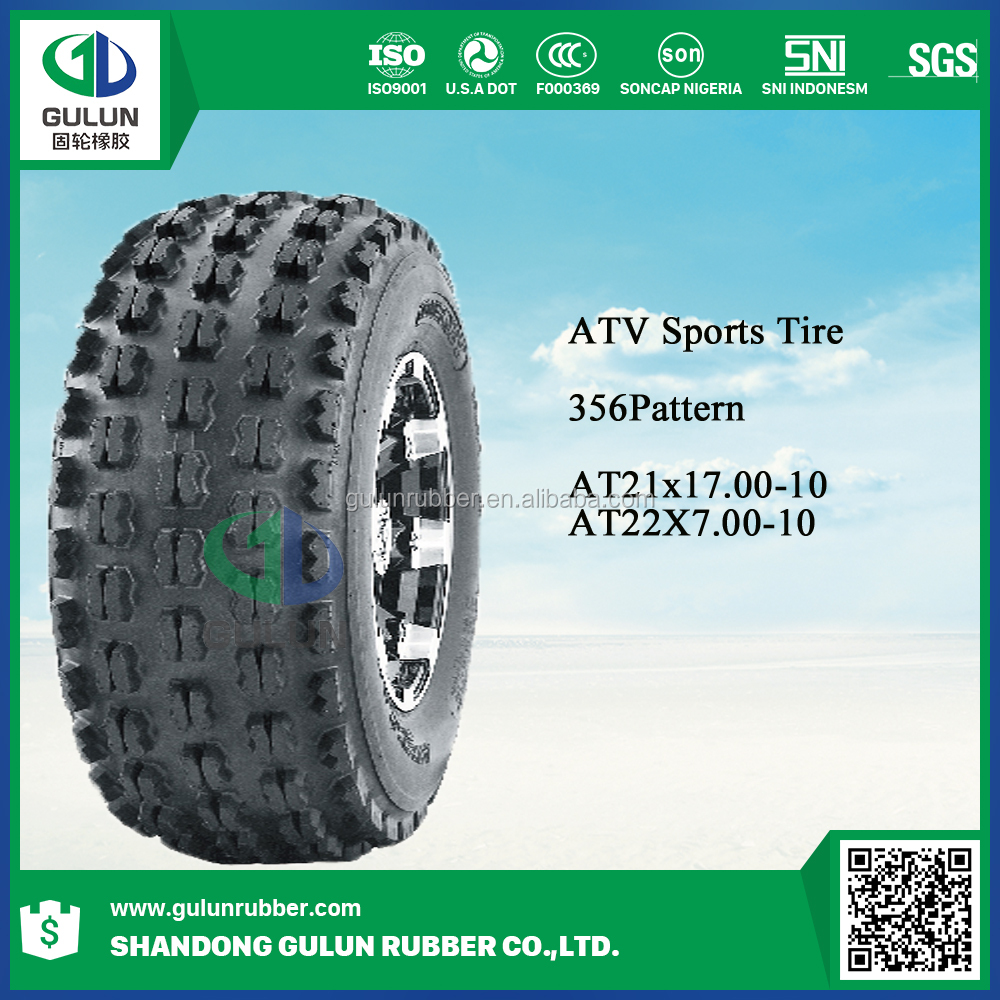 Good China 21*7-10 28*10R14 28*10R15 30*10R14 30*10R15 ATV -sport tire for sale