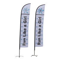 Hot Selling Feather Flag Flying Flags And Banners