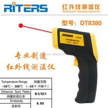 DT8380 Gun Type non-contact IR Laser Digital Infrared Thermometer/ Industrial high temperature Infrared Thermometer
