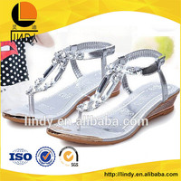 Korea style latest design high heel sandals for girls