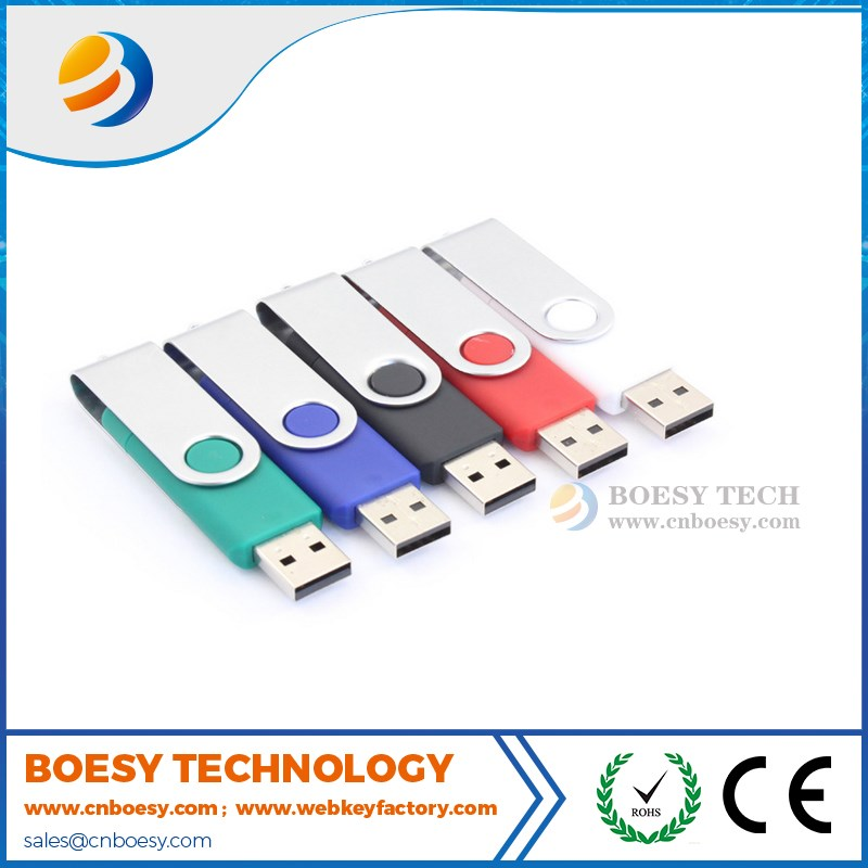 Promotional flash memory USB for business gift/Swivel USB stick pen drive
