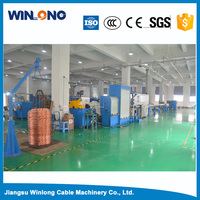 YL-Drawing and insulating Tandem line Iron multi wire drawing machine